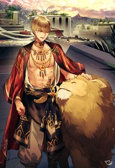 Gilgamesh Anime, Gilgamesh And Enkidu, Gilgamesh Fate, Fantasy Character Design, Character Art, Character Inspiration, Handsome Anime Guys, Hot Anime Guys, Fate Characters