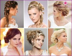 Wedding Hairstyles Hollywood stars - examples with photos