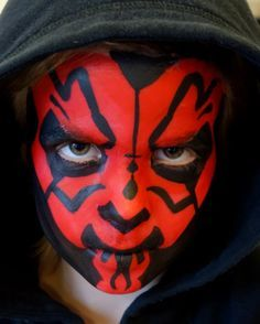 Lonnies Ansigtsmaling Darth Maul Star Wars Face paint