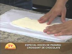 Especial Doces de Padaria - Croissant de chocolate
