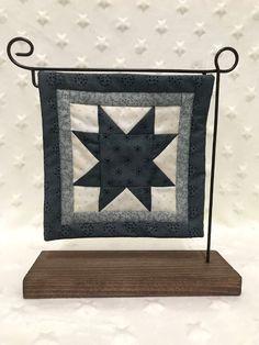 Kit Colgante Estrella de Invierno. Patrón de patchwork diseñado por Mi Casita de Patch.