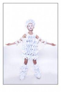 Paper Clothes Project w/Ann De Windt & Creative Kids  {via quirky collective}