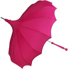Magenta Pagoda Umbrella ($50) ❤ liked on Polyvore featuring accessories, umbrellas, umbrella and cocktail umbrellas