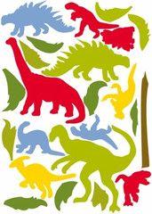 Dinosaurier  http://www.barndekor.se/products/wallsticker-dinosaurier-ws0205