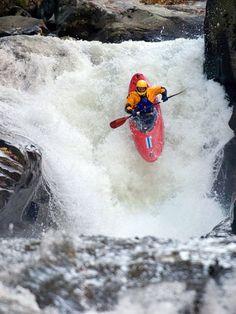 Charging the rapids - Steve Fisher - Green River Narrows, North Carolina