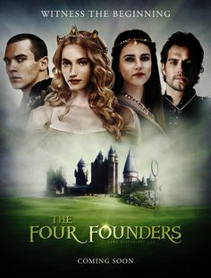 The Four Founders by ~lsmyang on deviantART - a story I think we all would love to know!