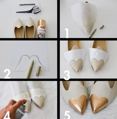 Como fazer bico de coração no sapato Bedazzled Shoes, Bling Shoes, Handmade Crafts, Diy And Crafts, Art Boots, Bling Wedding Shoes, Shoe Makeover, Shoe Refashion, Recycled Fashion