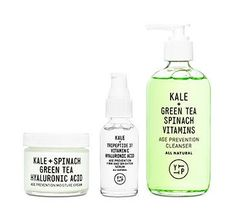 Meet our set: Each builds on the next, ensuring that your cleanser, moisturizer and serum work in harmony to get youthful, healthy skin you need to face the world.