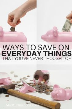 This year let's find ways to save more on every day things. I'm sure this ideas here will surprise you and will inspire you to save even more!