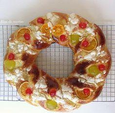 Bloc de recetas: El Roscón de Reyes de la abuela