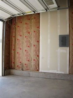 How to insulate interior walls that are already drywalled wall how to finish a garage an easy step by step guide to finishing your garage solutioingenieria Choice Image