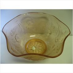 Indiana Glass Tiara Exclusives Rose Sandwich 10 Serving Bowl Made in USA on eBid United States #teamsellit #relove