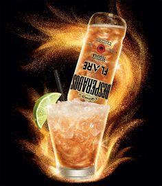 La Desperados Flare en cocktail #biere #gastronomie #bartending #beer Sparkling Ice, Vodka Bottle, Communication, Images, Cocktail, Photoshop, Drinks, Alcohol, Trends