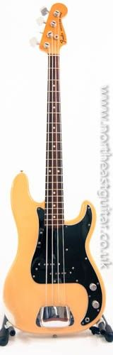 Vintage Fender Precision Bass1977-78 Olympic White RWN
