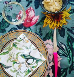 Décoration jungle pour un anniversaire - Sophie Plouvier
