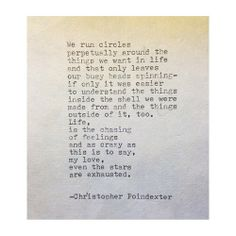 The Blooming of Madness poem #72 written by Christopher Poindexter