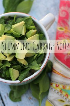 Summer is coming and this Slimming Cabbage Soup is a perfect way to make sure you're summer body ready! Make a pot today and then enjoy this low calorie, great tasting dish all week to help drop that winter weight!