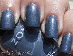 The PolishAholic: Zoya Fall 2011 Mirrors Collection Swatches Marina Blue Nail Polish, Purple Nail, Nail Polish Collection, Girly Things, Girly Stuff, Mani Pedi, Nail Colors, Colours, Swatch
