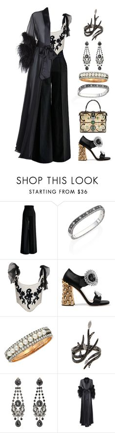 """///"" by lunaashton ❤ liked on Polyvore featuring Roberto Coin, Christian Lacroix, Miu Miu, Dolce&Gabbana, AS29, Givenchy and Jenny Packham"