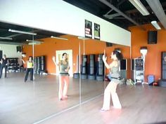 ZUMBA® cool down El Amor   super easy, but added less side-to-side and more stretches.