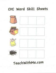 CVC Skill Sheets I