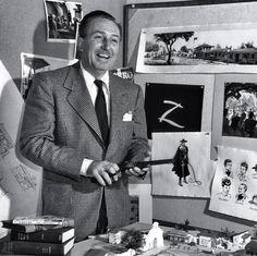 Walt Disney talking about a western movie.