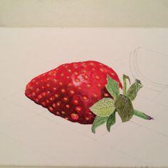 Bit more  progress in Paul Hills strawberry