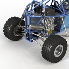 The Barracuda Mk II buggy - the pinnacle of single-seater off road buggies! Unleash extreme all-terrain performance with a rolling kit or build it yourself! Build A Go Kart, Diy Go Kart, Go Kart Designs, Travel Buggy, Kart Cross, Homemade Go Kart, Go Kart Parts, Tube Chassis, Kei Car