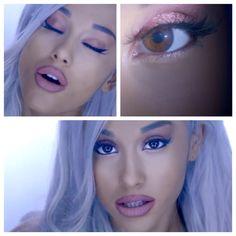 13 Celebrities Did Crazy Good Eye Makeup That You Will Absolutely Love Ariana Grande Nose, Ariana Grande The Way, Ariana Grande Photos, Celebrity Makeup Transformation, Love Makeup, Makeup Looks, Ariana Grande Makeup Tutorial, Concert Makeup, Queen