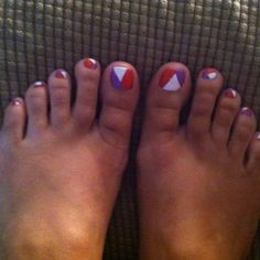 Graphic Toe Nail Polish!  If you have a toenail fungus problem, come to Beautiful Toenails in Southfield, MI!  Call (248) 945-1000 TODAY to set up an appointment with us or visit our website www.toenailfungu.pro to find out more information!