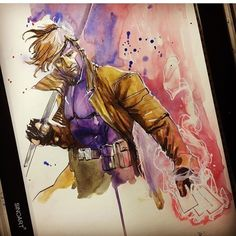 "851 Likes, 3 Comments - Comic Con Sketches (@comicconsketches) on Instagram: ""@rodreis does an awesome #gambit #sketch for @heroesonline 2017! #art #drawing #artist…"""