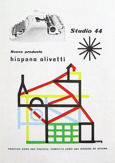 Olivetti Studio 44 Advertising