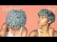 NATURAL HAIR TUTORIAL: HOW TO FLAT IRON 4C TWA HAIR [Video] - Black Hair Information Community