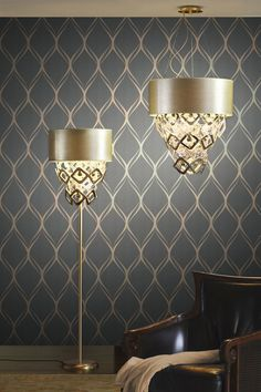 Image Result For Luxe Living Room Grey. Feature Wallpaper Living  RoomFeature Wall ... Part 39