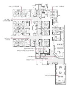 Surgery Center Floor Plan Google Search Gastro