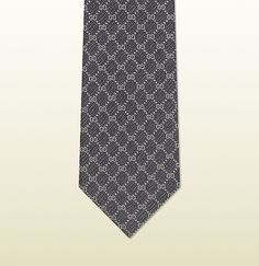 Gucci GG pattern woven silk tie on shopstyle.com