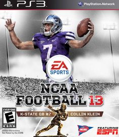 The real cover for NCAA Football 2013.
