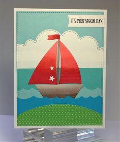 Crafting While I Wait:  Sailing Along