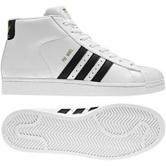 reputable site 26904 6c3e0 Adidas Pro Model Shoes ( 39) via Polyvore Botas, Zapatillas, Tenis, Estilo