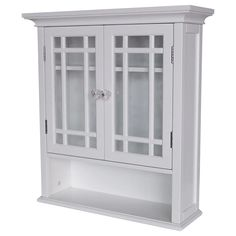Neal Wall Cabinet With 2 Doors And 1 Shelf From Hayneedle Com