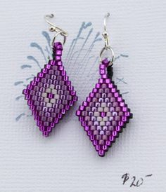 Reversible Beaded Earrings