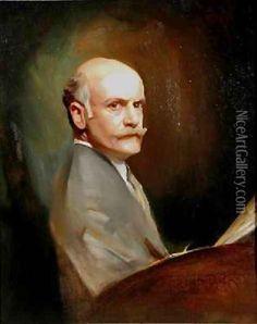 Self Portrait, Philip Alexius De Laszlo