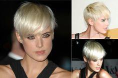 Agyness Deyn - celebrity short hairstyles - short hair