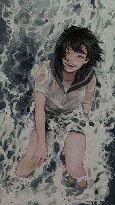 Anime Art Girl, Manga Art, Pretty Art, Cute Art, Aesthetic Art, Aesthetic Anime, Japon Illustration, Art Reference Poses, Anime Scenery