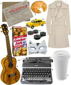 Love this Breakfast at Tiffanys collage.