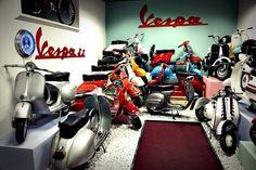 De 1946 até hoje já foram lançados mais de 40 modelos de Vespa! #VespaHistory #VespaBrasil #DoYouVespa #MadeinItaly