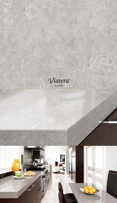 Viatera Lento l Quartz countertop Small Bathroom Colors, Small Bathroom With Shower, White Bathroom Tiles, Simple Bathroom, Built In Bath, Black And White Tiles, Glass Partition, Bathroom Renovations, Bathrooms