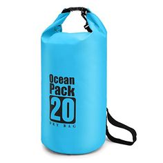 Lightweight Waterproof Dry Bag 20L/10L/5L with Shoulder Strap for Boating, Kayaking, Fishing, Beach, Swimming, Camping, Floating, Rafting Outdoor Store Our Product:    Durable and Practical waterproof dry bag all the time can keep your valuables dry. It is poplar and Widely used in outdoor activities. Such as, Beach, Motorcycles, Kayaking, Whitewater, Rafting, Snowboarding, Camping, etc. In addition, the dry bag also can store your Wet items which is convenient for you to distinguish your…