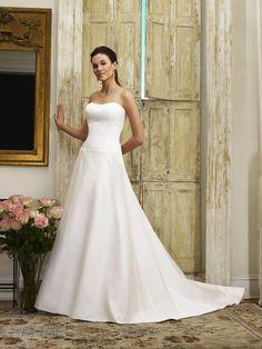 4ba29d59f01 75 Best Fitted wedding dresses  satin taffeta dupioni images