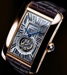 Cartier Tank Américaine Tourbillon Volant